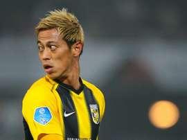 Officiel : Keisuke Honda signe à Botafogo. Goal