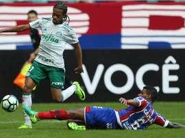 O atacante ainda busca o seu primeiro gol pelo Palmeiras no Pacaembu. Goal