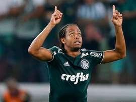 Keno Palmeiras Boca. Goal
