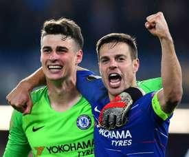 Chelsea hero Kepa enjoys Wembley row redemption. Goal