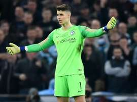 Kepa was dropped after his antics in the EFL Cup final. GOAL