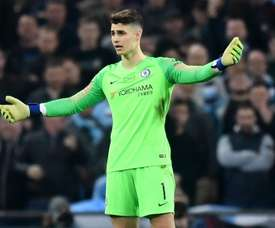 Kepa refused to be substituted against Manchester City. GOAL