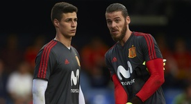 De Gea played in all four of Spain's World Cup matches in Russia. GOAL