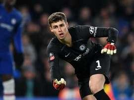 Kepa regains Premier League place for Chelsea v Everton. GOAL