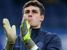 Kepa was dropped to the bench for Chelsea's game at Leicester. GOAL