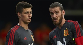 Kepa has spoken about his relationship with De Gea. GOAL