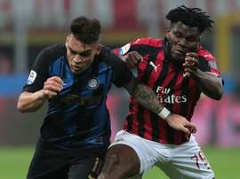 Kessie, Biglia apologise for row. Goal