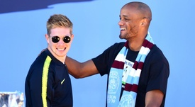 De Bruyne plans to join Kompany at Anderlecht when he leaves Man City.