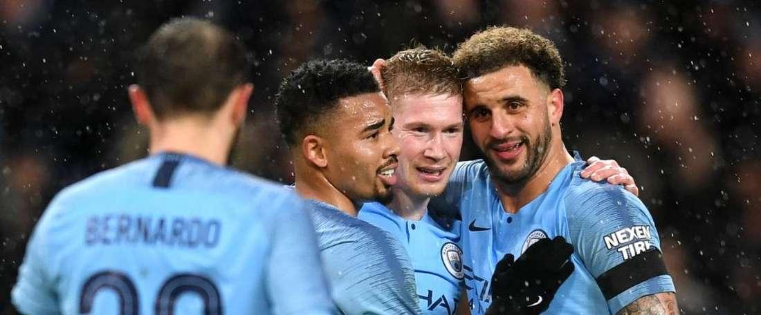 Manchester City déroule. Goal