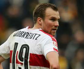 Kevin Grosskreutz joueur de Stuttgart. AFP