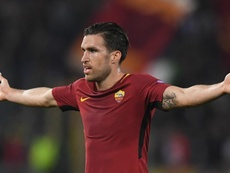 Neither Strootman nor Perotti will feature against Liverpool. GOAL