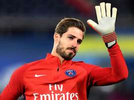 PSG's Kevin Trapp is ready to move in the transfer window. GOAL