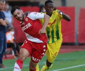 Monaco s'impose face à Nantes. AFP