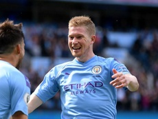 De Bruyne and Stones hand Guardiola fitness boost. GOAL
