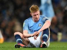 Kevin De Bruyne is nearing his comeback. GOAL