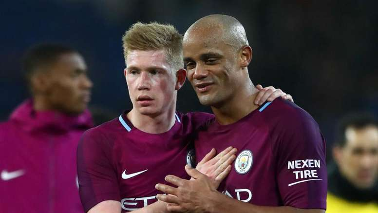 De Bruyne: Kompany will come good. Goal