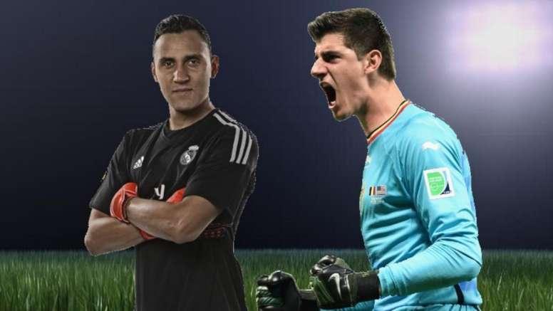 Real Madrid: a melhor solução caso Navas e Courtois tenham que disputar a titularidade
