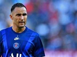Keylor Navas, déjà chez lui à Paris. Goal