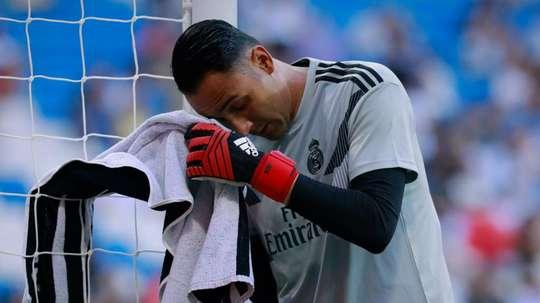 Arsenal boss has denied interest in goalkeeper. GOAL