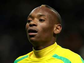 Billiat of the Sundowns. GOAL