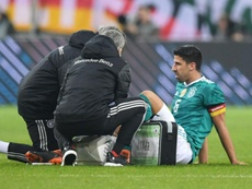 Khedira has revealed his substitution was only precautionary. GOAL