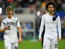 Germany fell to defeat in France on Tuesday. GOAL
