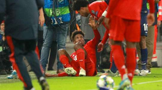 Bayern confirm Coman injury