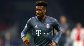 Coman had suffered ankle ligament damage earlier in the campaign. GOAL