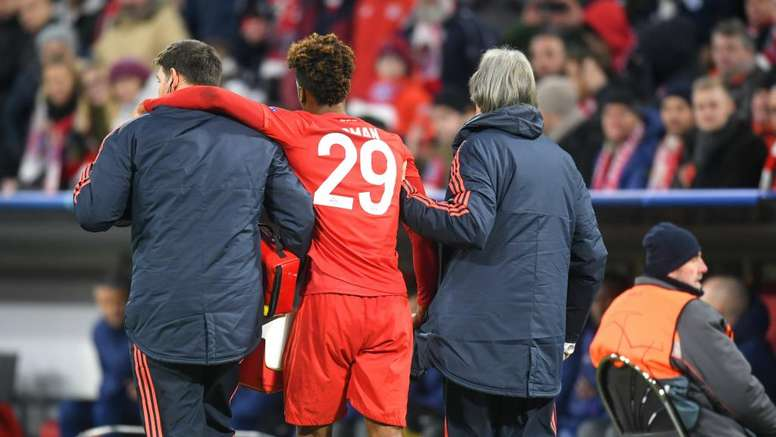 Coman suffers no serious knee damage. GOAL