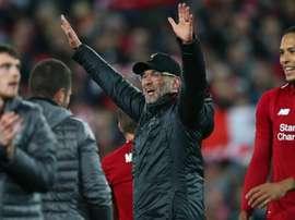 Jurgen Klopp after the incredible Champions League comeback. GOAL