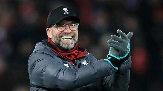 Klopp has been called the best coach in the world by the Salzburg manager. GOAL