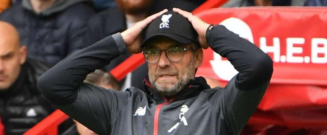 Liverpool échappe à l'exclusion en League Cup. AFP