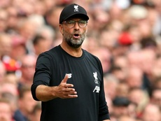 Klopp was in no mood to praise his players after fighting back v Newcastle. GOAL