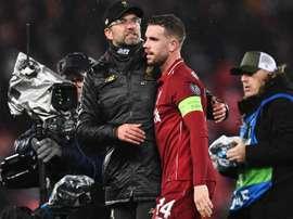 Henderson backs Klopp on Liverpool's transfer dealings this summer. GOAL