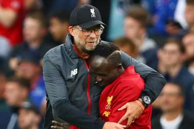 Mane had to be forced off during Liverpool's win against Chelsea. GOAL