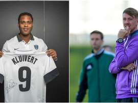 Kluivert and Guti were surprisingly linked with the job. GOAL