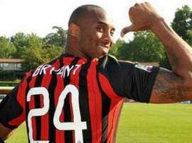 Entenda por que Kobe Bryant torcia para o Milan. Goal
