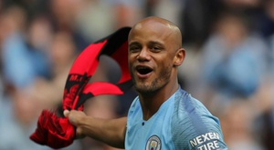 Vincent Kompany has given a lot to Man. City in his 11 years at the club. GOAL