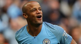 Kompany will return to the Etihad in September for a charity game. GOAL