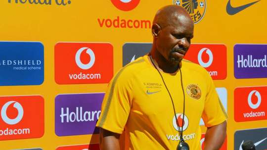 Komphela has stepped down from his role. GOAL