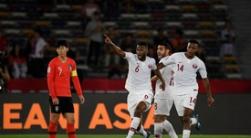 Le Qatar crée la surprise contre la Corée du Sud. AFP