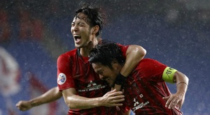 Shanghai beat Jeonbuk on penaties. GOAL