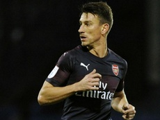 Koscielny is yet to make a senior appearance for Arsenal this season. GOAL