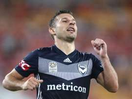 Barbarouses grabbed a share of the spoils for Melbourne. GOAL