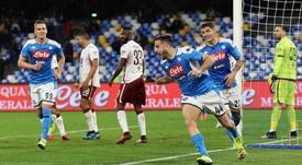 Il Napoli vince al San Paolo. Goal