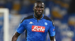 Koulibaly at home with Napoli