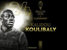 Koulibaly al 24esimo posto. Goal