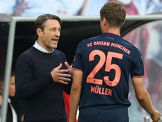 Kovac accepts he made a mistake with Muller comments. GOAL