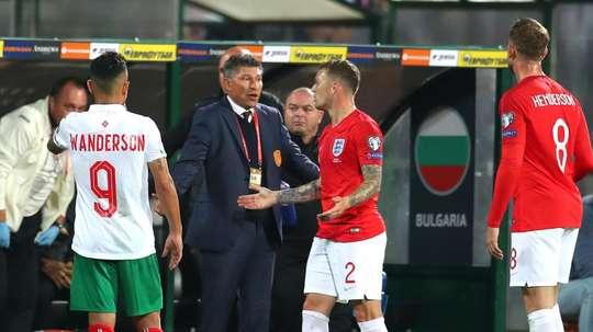 Bulgaria boss Balakov 'did not hear' racist chanting