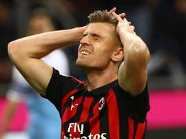 Kryzysztof Piatek has struggled towards the back end of the season. GOAL
